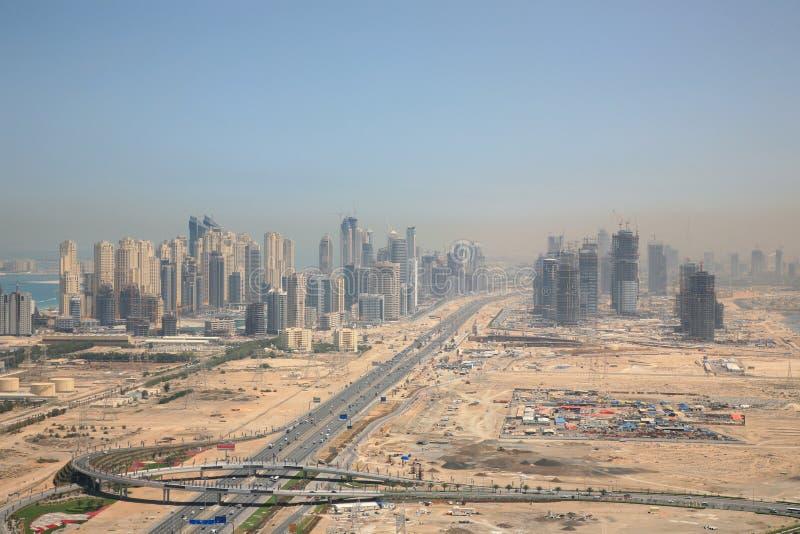 πόλη Ντουμπάι νέο στοκ φωτογραφίες