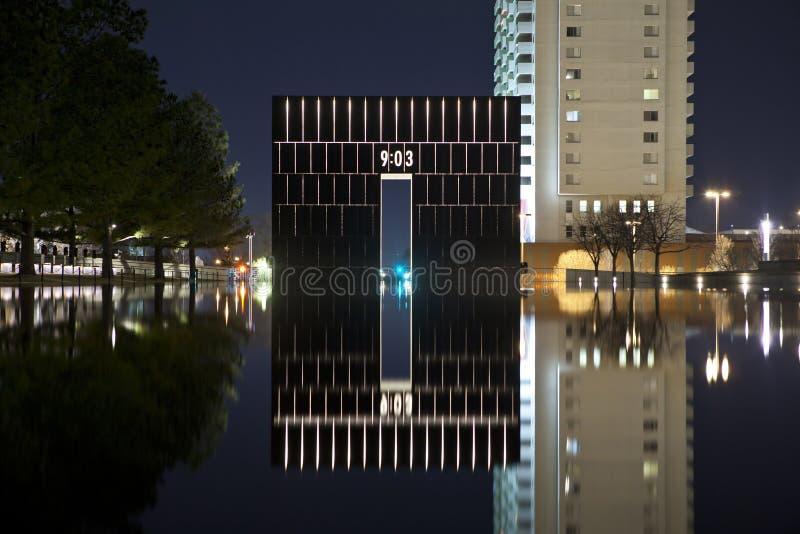πόλη Οκλαχόμα στοκ εικόνα με δικαίωμα ελεύθερης χρήσης
