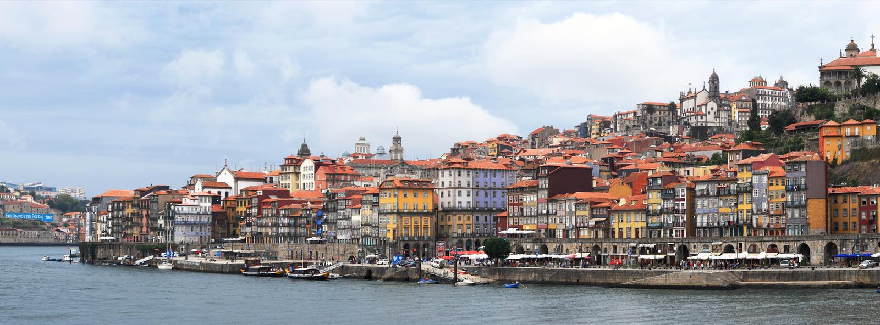 πόλη Οπόρτο Πορτογαλία στοκ εικόνες
