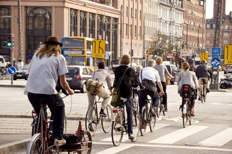 πόλη ποδηλάτων στοκ φωτογραφία με δικαίωμα ελεύθερης χρήσης