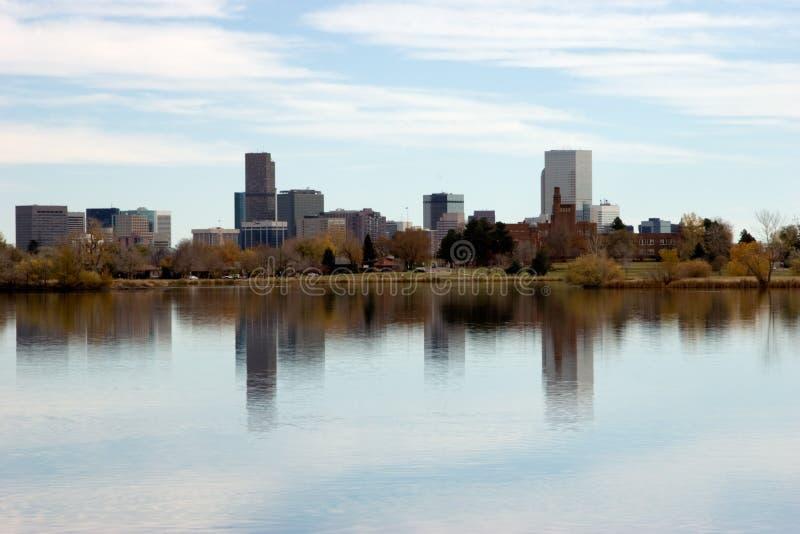 πόλη ποταμών Platte στοκ εικόνες με δικαίωμα ελεύθερης χρήσης