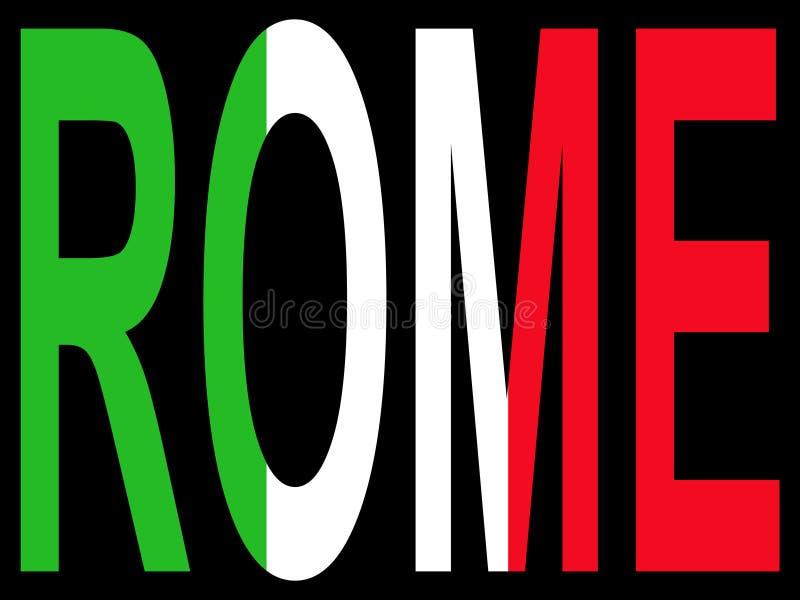 πόλη Ρώμη διανυσματική απεικόνιση