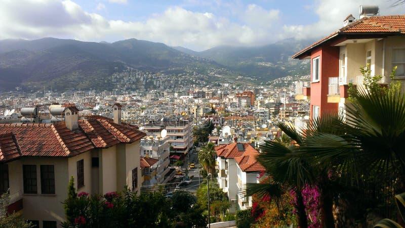 Πόλη στα βουνά στοκ φωτογραφία με δικαίωμα ελεύθερης χρήσης