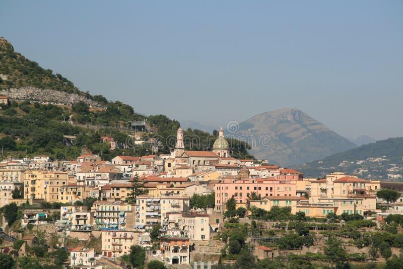 πόλη της Αμάλφης Ιταλία στοκ φωτογραφία