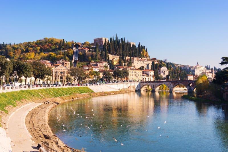 Πόλη της Βερόνα Ιταλία στοκ εικόνες
