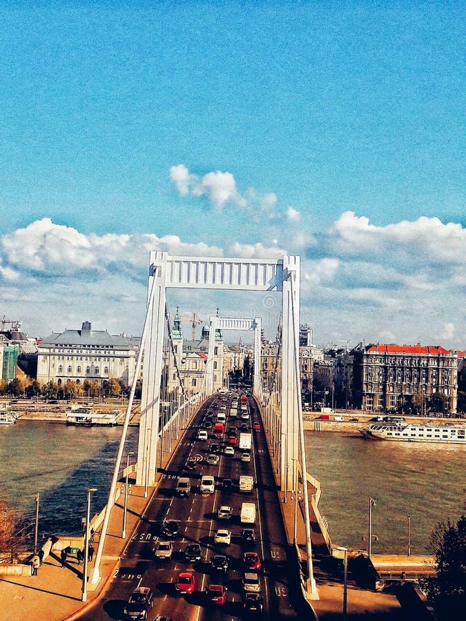 Πόλη της Βουδαπέστης στοκ φωτογραφία με δικαίωμα ελεύθερης χρήσης