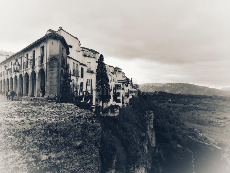 Πόλη της Ισπανίας Ανδαλουσία της Ronda στοκ εικόνες με δικαίωμα ελεύθερης χρήσης