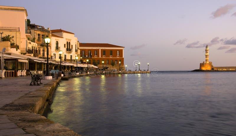 πόλη της Κρήτης chania στοκ φωτογραφία με δικαίωμα ελεύθερης χρήσης