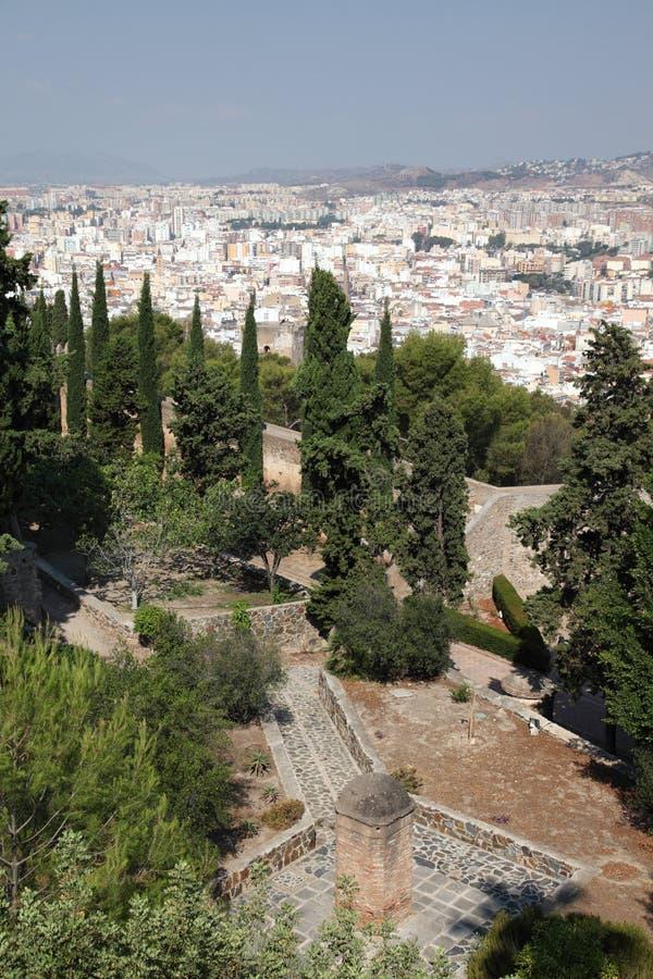 Πόλη της Μάλαγας, Ισπανία στοκ φωτογραφία με δικαίωμα ελεύθερης χρήσης