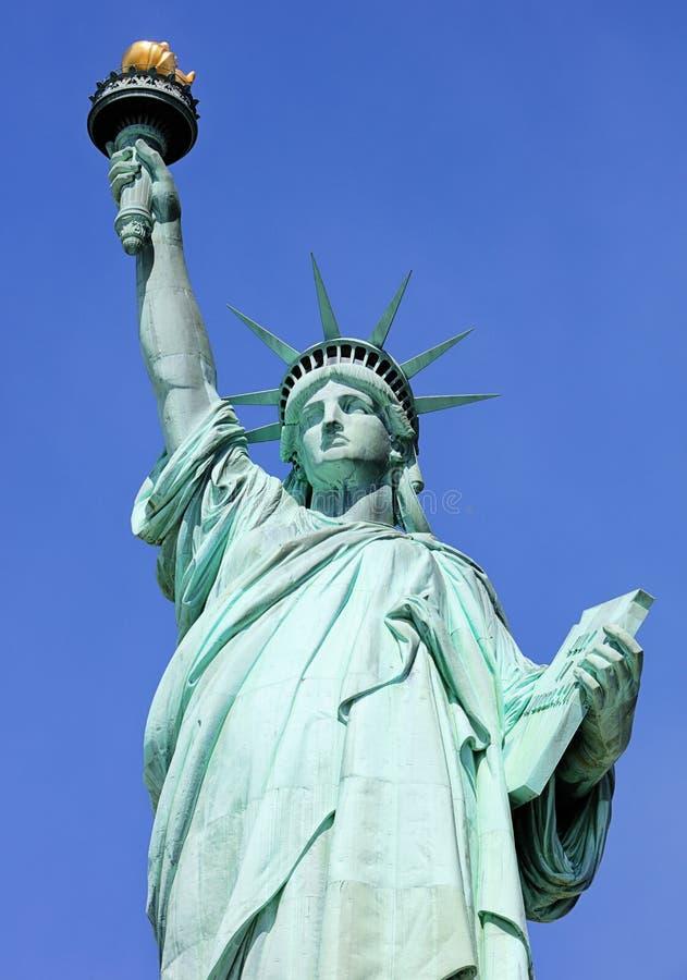 Πόλη της Νέας Υόρκης, άγαλμα της ελευθερίας, ΗΠΑ στοκ φωτογραφίες με δικαίωμα ελεύθερης χρήσης