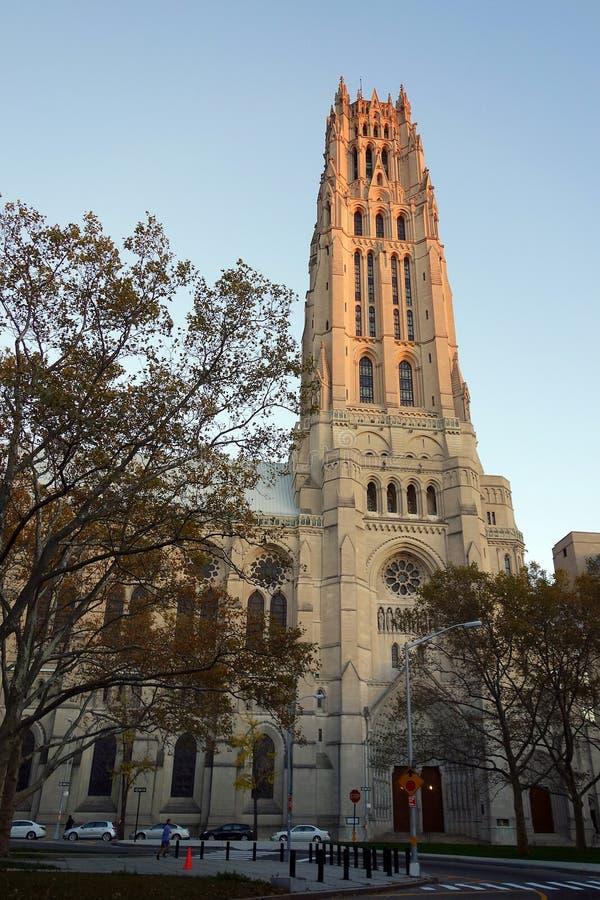 Πόλη της Νέας Υόρκης ΗΠΑ εκκλησιών harlem bronx στοκ εικόνα