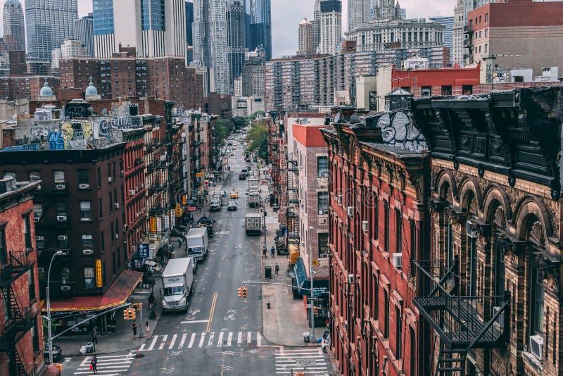 Πόλη της Νέας Υόρκης Κίνα στοκ εικόνες