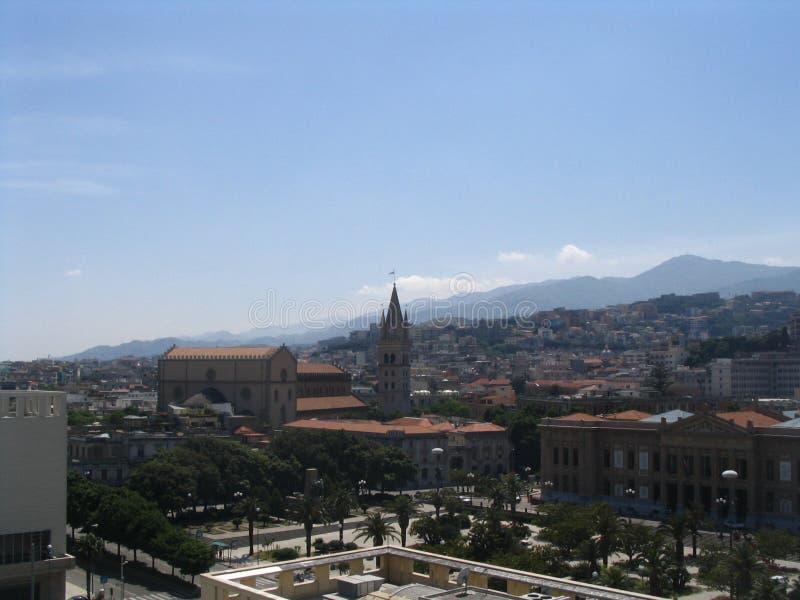 πόλη της Σικελίας mesina στοκ φωτογραφίες με δικαίωμα ελεύθερης χρήσης
