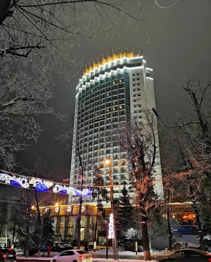 Πόλη του Αλμάτι, Καζακστάν στοκ εικόνα
