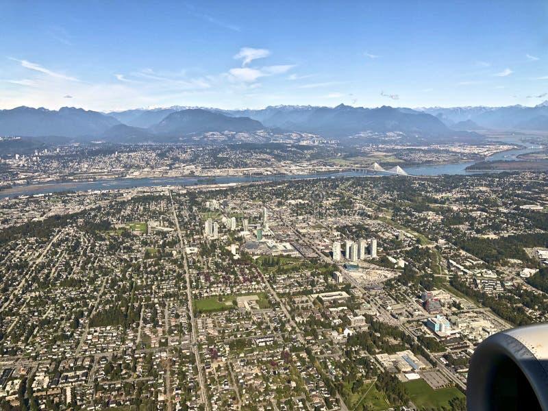 Πόλη του Βανκούβερ scape στοκ φωτογραφίες