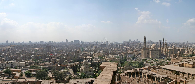 πόλη του Καίρου στοκ εικόνες