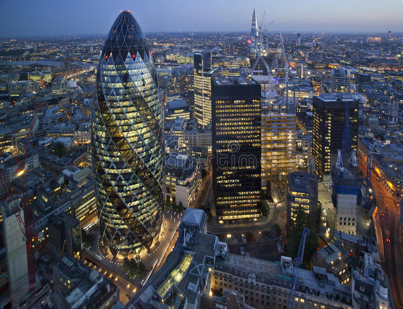 Πόλη του Λονδίνου, UK στοκ φωτογραφία