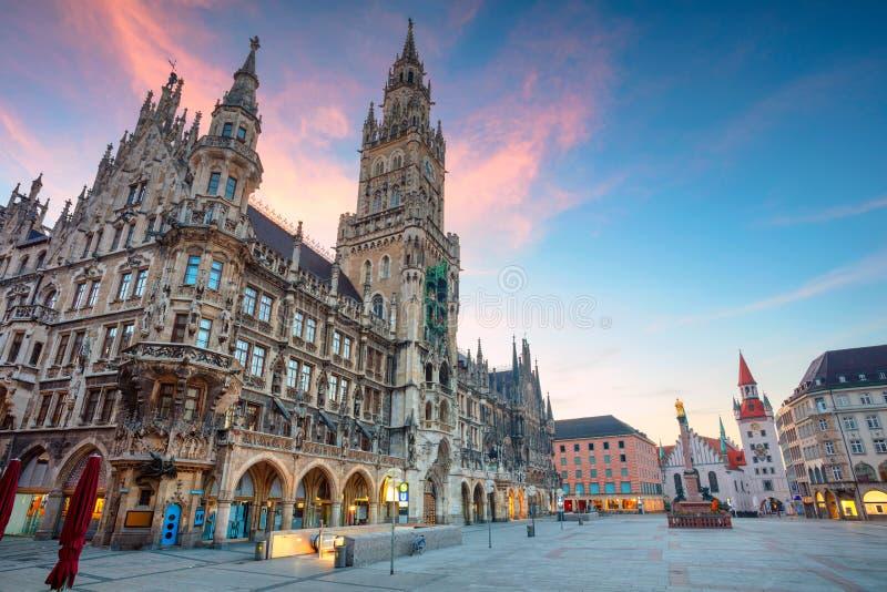 Πόλη του Μόναχου, Γερμανία στοκ φωτογραφία με δικαίωμα ελεύθερης χρήσης