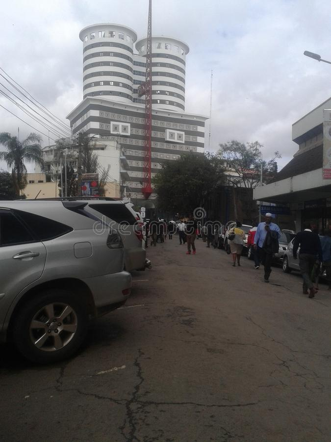 Πόλη του Ναϊρόμπι στοκ εικόνες