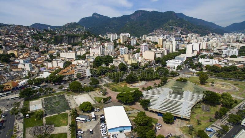 Πόλη του Ρίο ντε Τζανέιρο, πλατεία του Roberto Campos στοκ εικόνες με δικαίωμα ελεύθερης χρήσης
