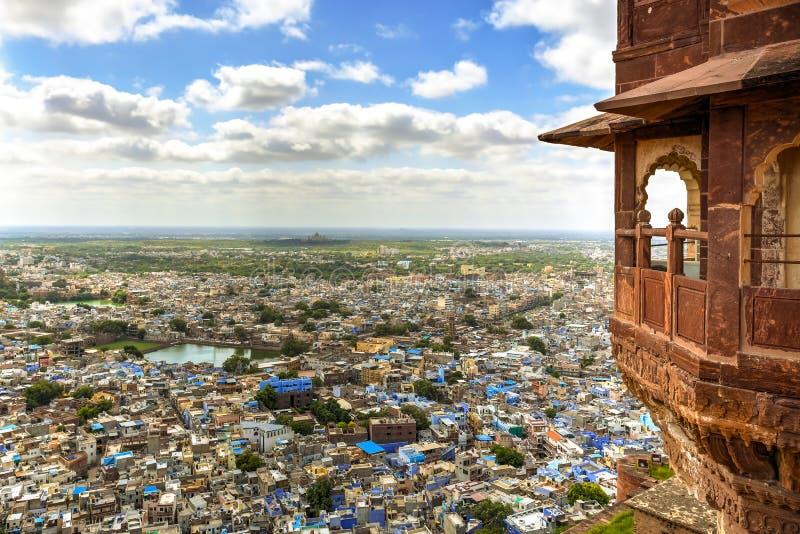 Πόλη του Jodhpur, Ινδία στοκ φωτογραφίες με δικαίωμα ελεύθερης χρήσης