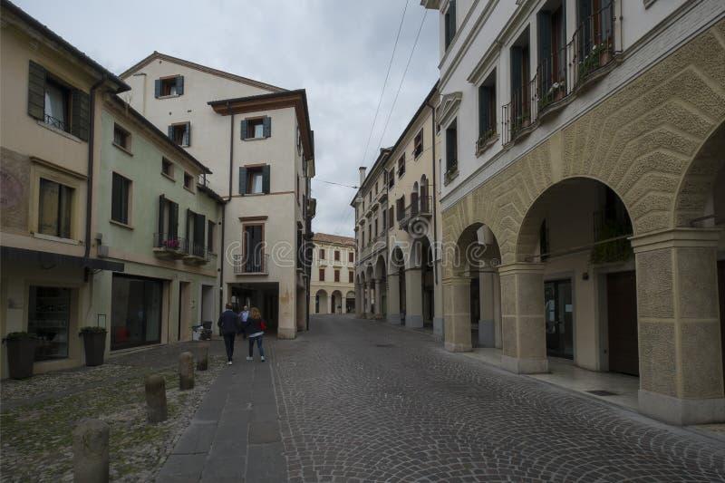 Πόλη του Treviso, Ιταλία, και τα κανάλια του στοκ εικόνα με δικαίωμα ελεύθερης χρήσης