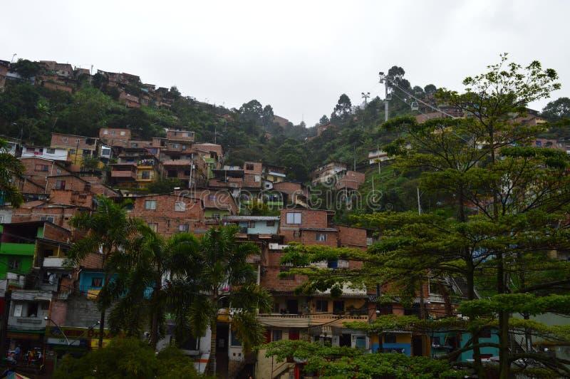Πόλη τραγουδιών Medellin στοκ φωτογραφίες με δικαίωμα ελεύθερης χρήσης