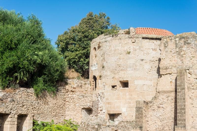 Πόλη Alghero στη Σαρδηνία, Ιταλία στοκ εικόνα με δικαίωμα ελεύθερης χρήσης