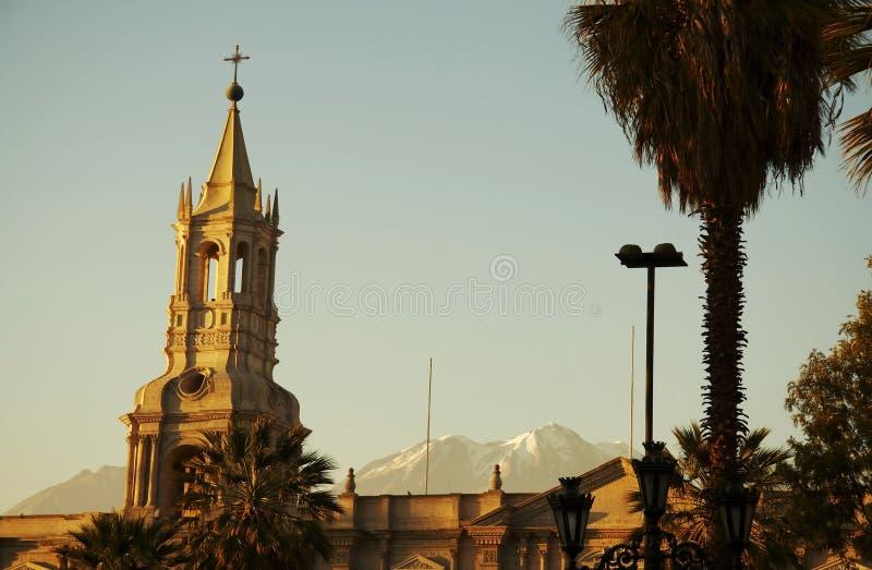 πόλη arequipa στοκ εικόνες