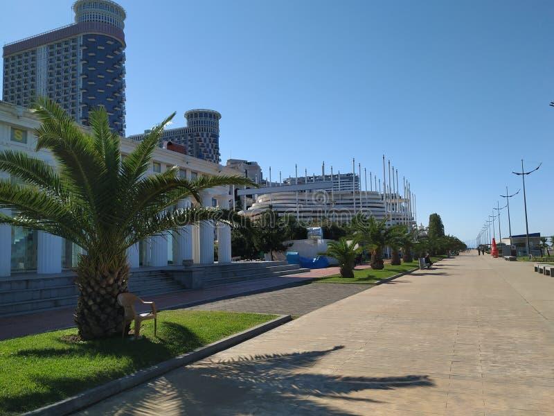 Πόλη Batumi της Γεωργίας Adjara στοκ εικόνα με δικαίωμα ελεύθερης χρήσης