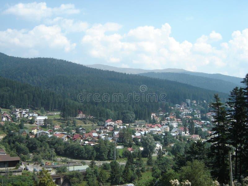 πόλη busteni στοκ φωτογραφίες με δικαίωμα ελεύθερης χρήσης