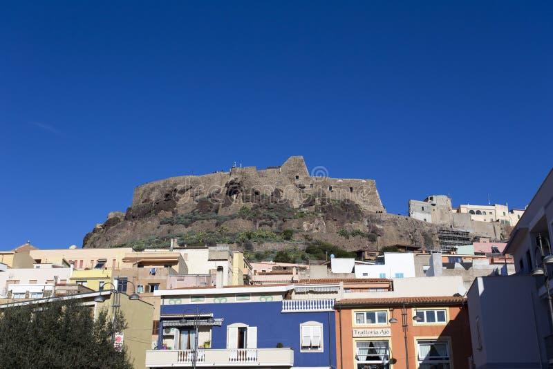 Πόλη Castelsardo στη Σαρδηνία στοκ φωτογραφία