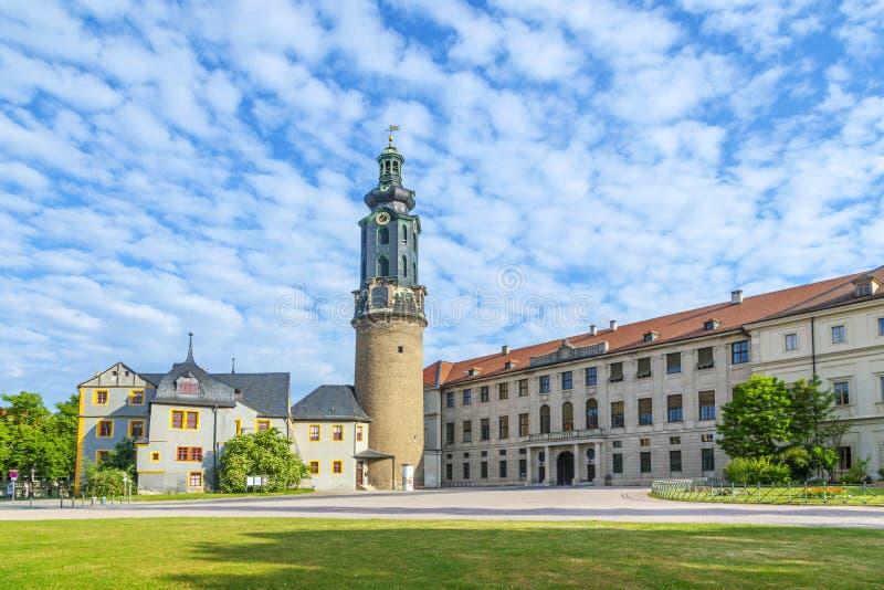 Πόλη Castle Weimar στη Γερμανία στοκ εικόνα με δικαίωμα ελεύθερης χρήσης