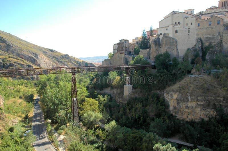 πόλη cuenca Ισπανία στοκ εικόνα με δικαίωμα ελεύθερης χρήσης