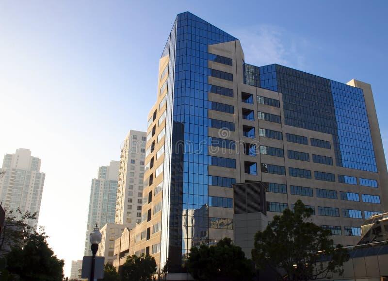 πόλη Diego σύγχρονο SAN κτηρίων στοκ εικόνα με δικαίωμα ελεύθερης χρήσης