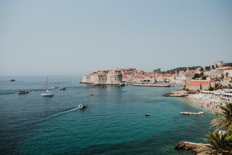 Πόλη Dubrovnik, Κροατία στοκ εικόνα