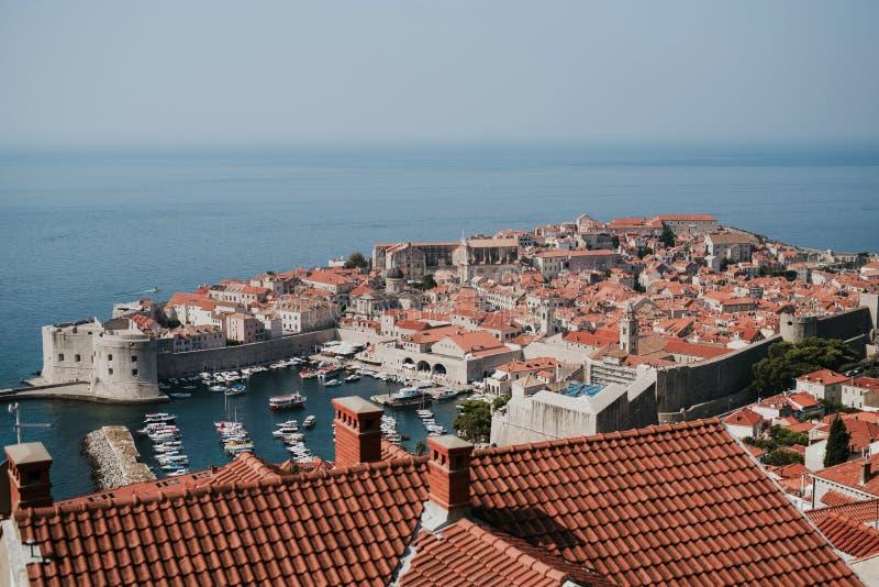 Πόλη Dubrovnik, Κροατία στοκ εικόνες με δικαίωμα ελεύθερης χρήσης