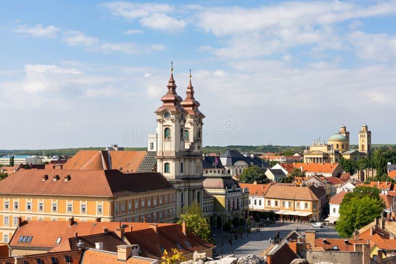 Πόλη Eger, Ουγγαρία στοκ εικόνες