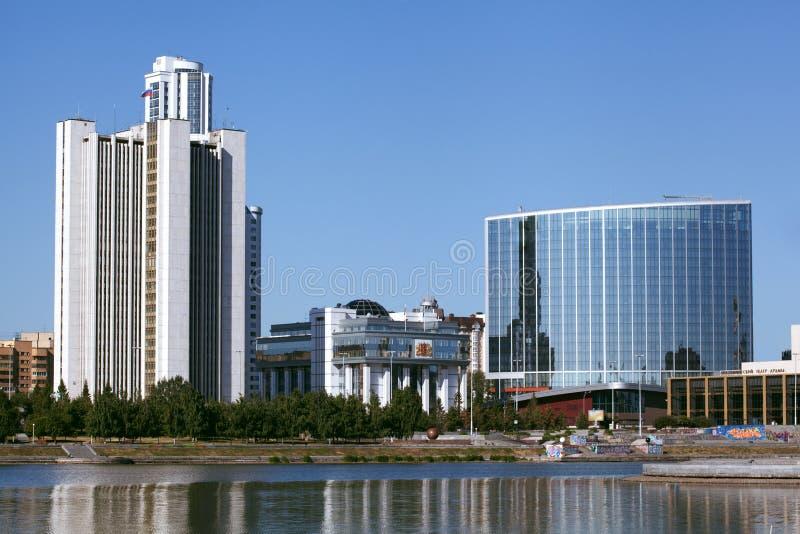 Πόλη Ekaterinburg στοκ εικόνες