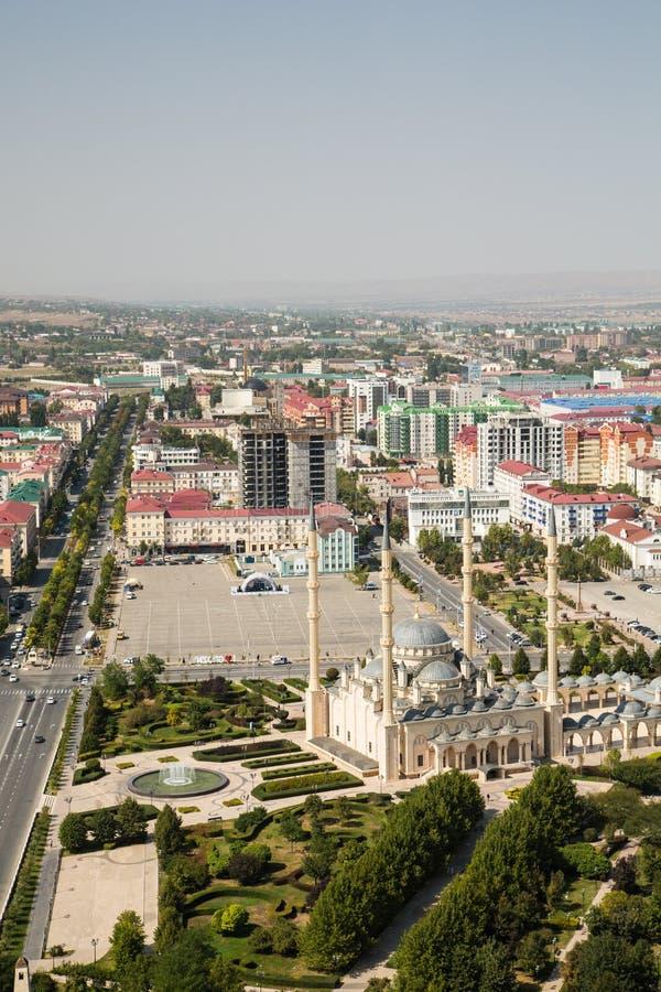 Πόλη Gozny η πρωτεύουσα Τσετσενίας στοκ εικόνα με δικαίωμα ελεύθερης χρήσης