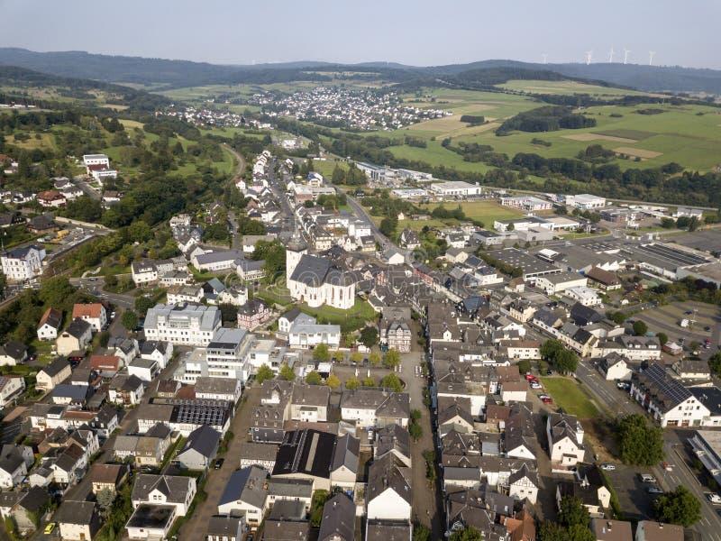 Πόλη Haiger, Hesse, Γερμανία στοκ εικόνα με δικαίωμα ελεύθερης χρήσης
