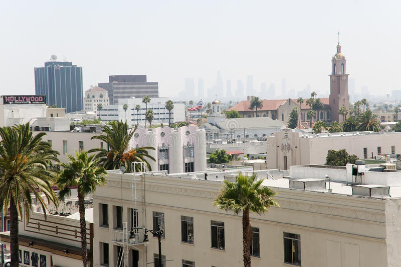 πόλη hollywood στοκ φωτογραφίες με δικαίωμα ελεύθερης χρήσης