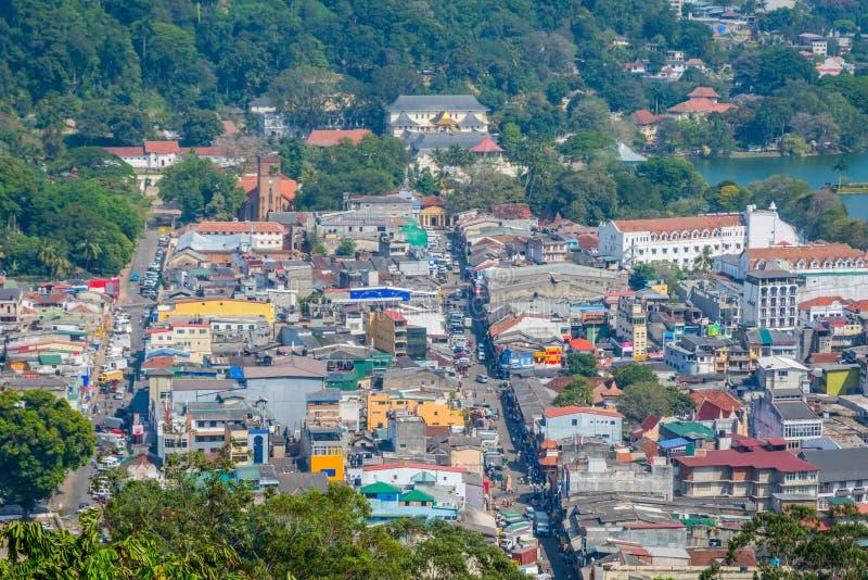 Πόλη Kandy, Σρι Λάνκα στοκ εικόνα με δικαίωμα ελεύθερης χρήσης