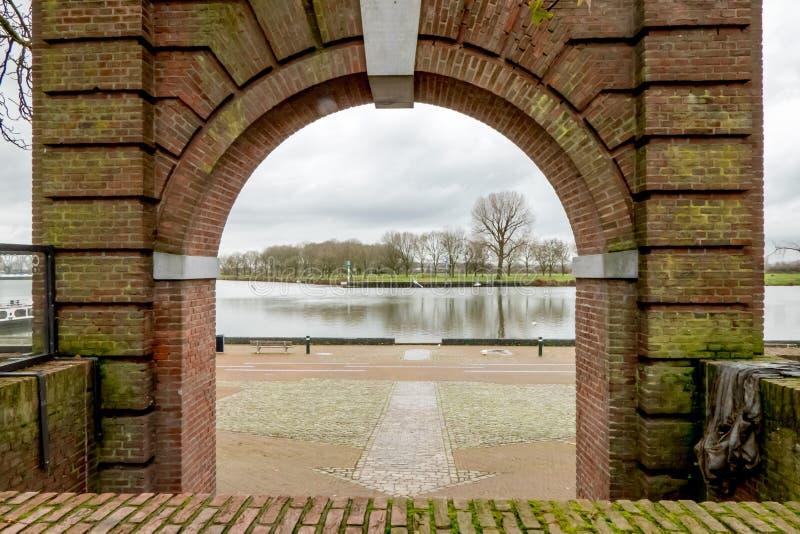 Πόλη Maaspoort Κάτω Χώρες στοκ εικόνες με δικαίωμα ελεύθερης χρήσης