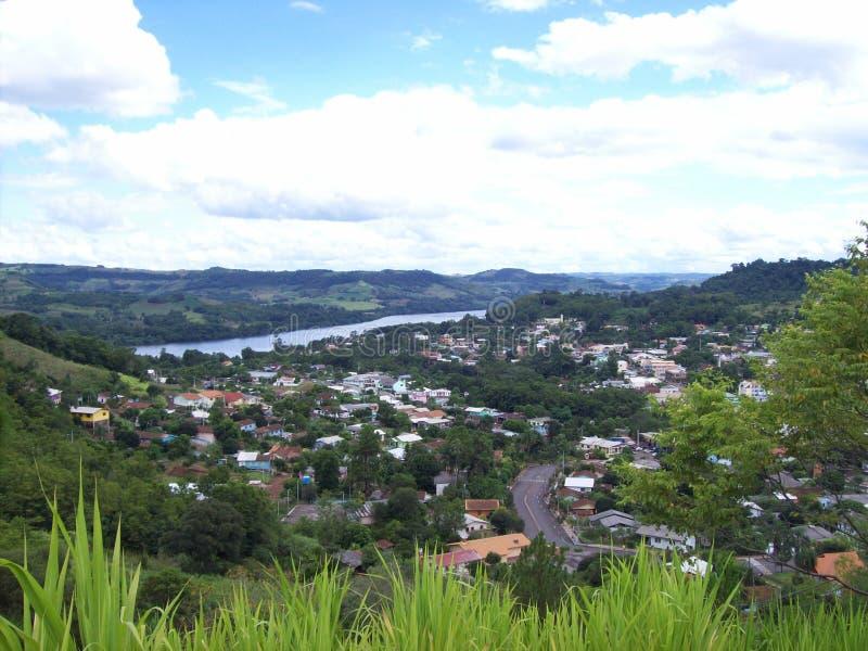 Πόλη Mondai, Santa Catarina, Βραζιλία στοκ εικόνα με δικαίωμα ελεύθερης χρήσης