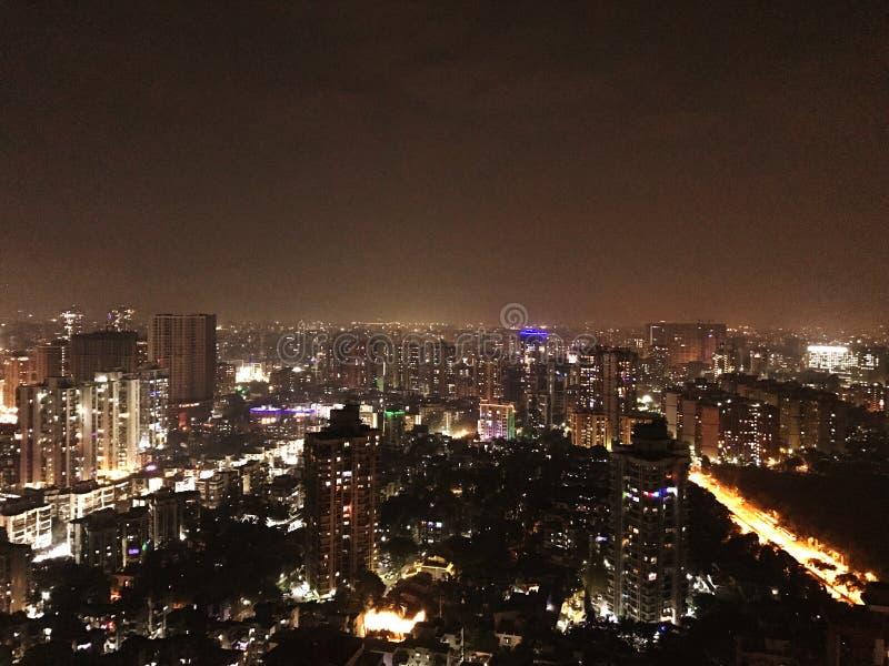 Πόλη Mumbai τη νύχτα στοκ φωτογραφία με δικαίωμα ελεύθερης χρήσης