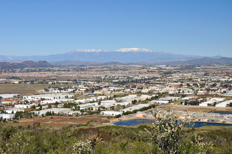 πόλη murrieta στοκ εικόνες