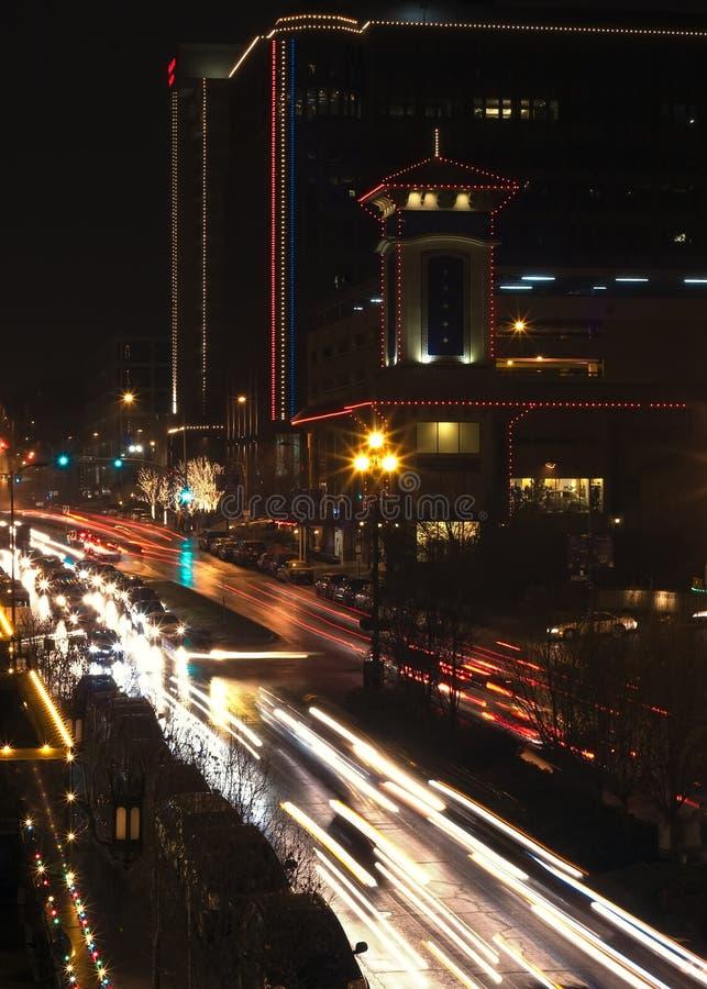 Πόλη Plaza του Κάνσας στοκ εικόνες