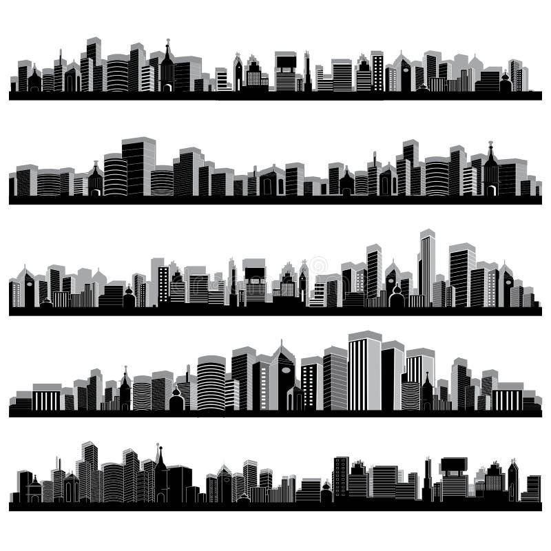 πόλη scape διανυσματική απεικόνιση