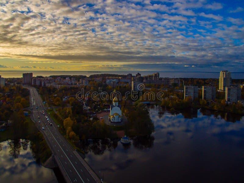 Πόλη Sestroretsk στοκ εικόνες με δικαίωμα ελεύθερης χρήσης